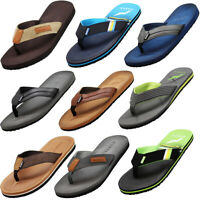 Norty Men's Soft EVA Flip Flop Thong Sandal Shoe for Casual Beach Pool Everyday