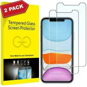 Gorilla Tempered Glass Screen Protector for New iPhone 12 11 13 Pro XR Max Cover