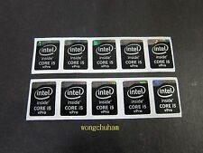 Intel Core i5 vPro Sticker (Haswell Extreme) 15.5mm x 21mm - 10 pcs