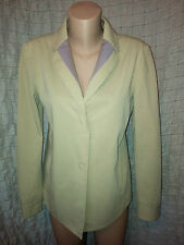 Etro Milano beige cotton jacket  blazer size 44 (10-12 UK)