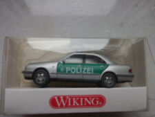 WIKING 1041328 Polizei MB E-klasse Grün - Silber Maßstab 1 87 mit OVP