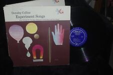 DOROTHY COLLINS Experiment Songs  LP MOTIVATION RECORDS KIDS CLASSROOM
