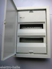 Unterverteiler Kleinverteiler Unterputz Sicherungskasten 2reihig mit Tür Gewiss