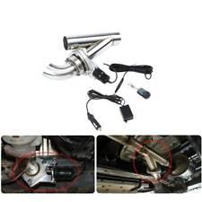 3''76mm Valve Echappement Électrique Télécommande Downpipe Cut Out Système Set