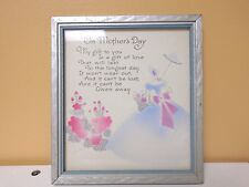 Mother's Day Plaque Vintage and Elegant. What a Great Gift