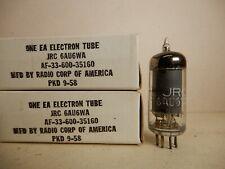 Rca Jrc 6Au6Wa Vacuum Tubes (2) Untested but Guaranteed! 1958
