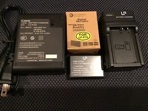CANNON LP-E10 Battery And 2 Chargers