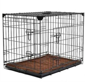 Petplanet Sloping Dog Cage With Mat- Large