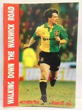 Walking Down The Warwick Road Issue 23 Manchester United Fanzine 1993 WDWR