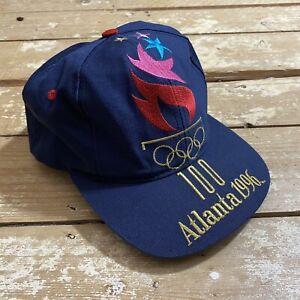 Vintage Logo 7 Atlanta 1996 Snapback Hat Cap Olympics