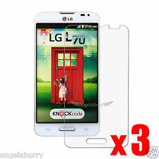 3x Premium Clear Screen Protector Film for LG L70