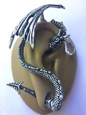 CRYSTAL DRAGON E330 by Alchemy  Gothic  Single Ear wrap for the RIGHT ear