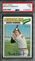 1977 Topps #285 Brooks Robinson PSA 7 NM