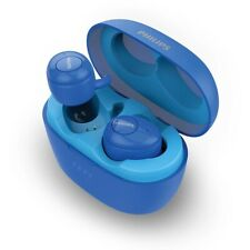 Philips Upbeat SHB2505 Blue Truly Wireless Earbuds, with Portable Charging Case