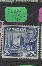 CYPRUS  (P3103B)  KGVI  2 1/2 PI    SG 156     MOG