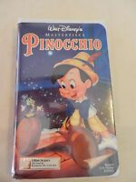 Walt Disney's Masterpiece Pinocchio (VHS, 1993) Clam Shell