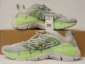 Reebok Men's Zig Kinetica II [ Grey ] Running Shoes - FY7744 Size 11.5