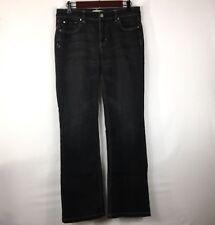 "White House Black Market Womens Black Jeans Size 8 R Blanc Boot Leg Inseam 31.5"""