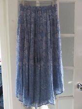 EAST ARTISAN  PALE BLUE EMBELISHED MAXI SKIRT SIZE XL  NEW WITH TAGS