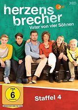 Herzensbrecher - Vater von vier Söhnen Staffel 4 NEU OVP 3 DVDs