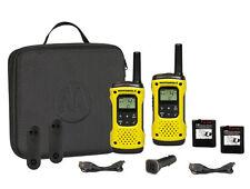Motorola tlkr t92 h2o pmr446 mano radios funda set USB de carga técnica