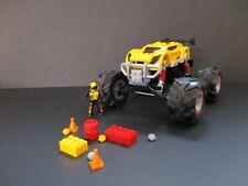 2013 Hot Wheels Mega Bloks Retired Set #91712 Super Blitzen Monster Truck 3 in 1