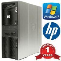 HP Workstation Z600 2x Xeon E5640 Quad Core 2.66GHz 48GB DDR3 Memory 4TB HDD
