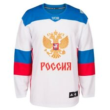 60d7f01af Russia NHL adidas Men s White 2016 World Cup of Hockey Premier Away Jersey