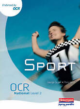 OCR National level 2 Sport Student Book by George Caplan, Philip Smith (Paperba…