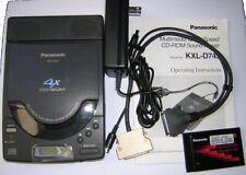 Vintage Panasonic Portable External PCMCIA SCSI Sound CD-ROM Drive KXL-D745 Kit