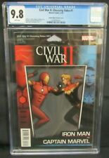 Civil War II: Choosing Sides #1 (2016) Action Figure Variant Marvel CGC 9.8 X741