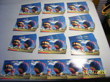 Lot of 50 Battle Creek,MIchigan Extravagant Hot Air Balloon Festival Postcards
