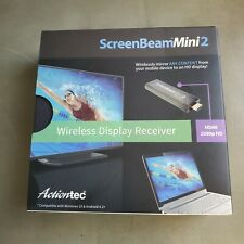 Actiontec ScreenBeam Mini 2 Wireless Display Receiver Sealed Box Free Shipping