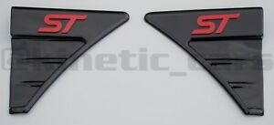 Fiesta MK7-7.5 RS style Gloss black wing vents.ST Blue,Red,White,Yellow,Orange