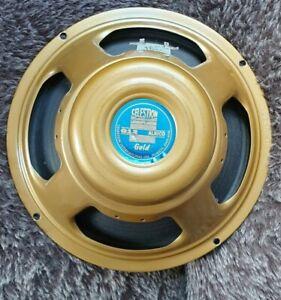 Celestion Alnico Gold 15ohm Speaker 12 Inch