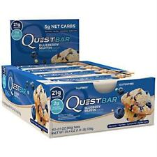 Quest Nutrition Blueberry Muffin- 12 in a box EXP 5/22/18