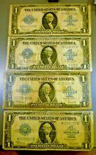 Lot: 4 1923 Silver Certificates Horseblanket