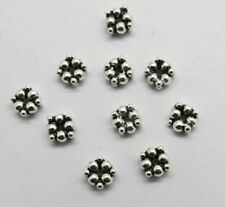 10 Pieces 925 Sterling Silver Beads Spacer Bali Silver Beads Daisy Spacer 6mm