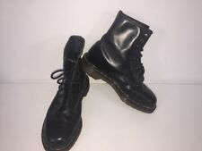 Dr Martens Black leather ankle boot Walking Hiking Boots Uk5 EU38 Made In Uk