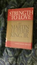 Strength to Love - Martin Luther King, Jr., First Edition, 1st Printing Hcdj
