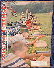 Vintage Magazine American Rifleman, OCTOBER 1961 ! M14 RIFLE ! *Camp Perry 1961*