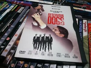 Reservoir Dogs DVD *Region free snapper, snap case usa import. Used gc