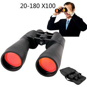 20-180X100 Professional Binoculars Telescope Portable Day&Night Vision Zoom