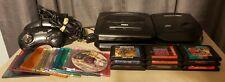 Sega Genesis Model 2 & Sega CD Console TESTED w/ 18 games Corpse Killer Sonic 2