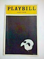 PLAYBILL Phantom of The Opera (1992) Mark Jacoby, Karen Culliver, Hugh Panaro