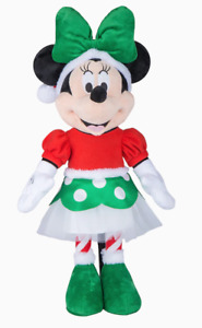 Christmas Holiday Disney 24 in Minnie Mouse Greeter Red & Green Elf Outfit