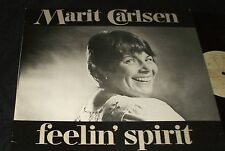 MARIT CARLSEN Feelin Spirit LP RARE FEMME NORWAY NORWEGIAN XIAN FOLK
