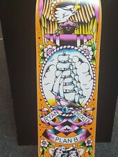 PLAN B RYAN SHECKLER TATTOO FLASH SERIES SHIP & ANCHOR SKATEBOARD DECK NEW