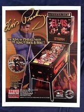 Original Elvis Pinball Machine Flyer by STERN