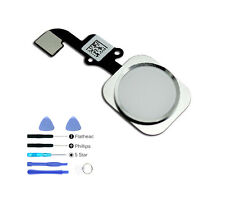 White Silver Home Button ID Sensor flex cable iphone 6 / 6 Plus Replacement Tool